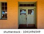 interesting doorway entrys | Shutterstock . vector #1041496549
