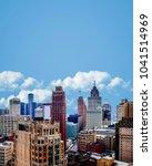 cityscape of detroit michigan... | Shutterstock . vector #1041514969