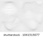 warped gray lines for your... | Shutterstock . vector #1041515077