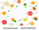 fruit background. colorful... | Shutterstock . vector #1041533431