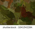 oil painting on canvas handmade....   Shutterstock . vector #1041542284