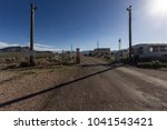 area 51 gate | Shutterstock . vector #1041543421