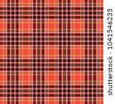scottish cage  red celtic.... | Shutterstock .eps vector #1041546235