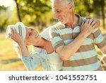 wonderful mood. delighted nice... | Shutterstock . vector #1041552751
