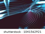 abstract wave background of... | Shutterstock . vector #1041562921