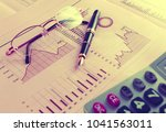 business and financial concept... | Shutterstock . vector #1041563011