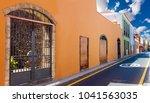 canary islands.tenerife la... | Shutterstock . vector #1041563035