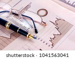 business and financial concept... | Shutterstock . vector #1041563041