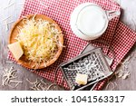 ingredients for pasta dish or... | Shutterstock . vector #1041563317