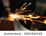 drill with diamond tipped... | Shutterstock . vector #1041564145