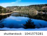hiking in nature and enjoying... | Shutterstock . vector #1041575281