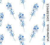 seamless pattern with...   Shutterstock . vector #1041589915