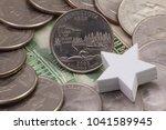 a quarter of minnesota ... | Shutterstock . vector #1041589945