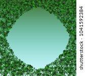 clover green is a confetti... | Shutterstock .eps vector #1041592384