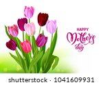 holiday mothers day card | Shutterstock .eps vector #1041609931