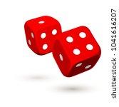 illustration online casino... | Shutterstock .eps vector #1041616207