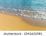 sea waves in the sand | Shutterstock . vector #1041631081