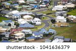 aerial elevated view of... | Shutterstock . vector #1041636379