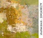 oil painting on canvas handmade....   Shutterstock . vector #1041638179