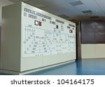Panel In Control Room Of A...