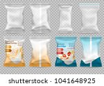 polypropylene plastic packaging ... | Shutterstock .eps vector #1041648925