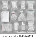 big set of polypropylene... | Shutterstock .eps vector #1041648994