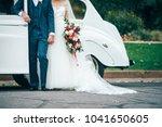 Loving Wedding Couple Is...
