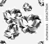watercolor seamless pattern... | Shutterstock . vector #1041675634