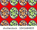 textile fashion african print...   Shutterstock .eps vector #1041684835