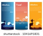 set travel banners | Shutterstock .eps vector #1041691831