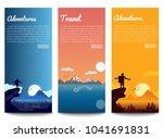 set travel banners   Shutterstock .eps vector #1041691831