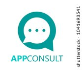consulting logo corporation | Shutterstock .eps vector #1041693541