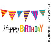 """happy birthday"" text  colorful ... 