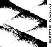 abstract grunge grid stripe... | Shutterstock . vector #1041711901
