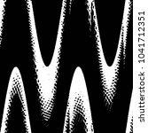 grunge halftone black and white ... | Shutterstock . vector #1041712351