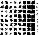 black and white grunge stripe... | Shutterstock . vector #1041713914