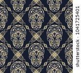 seamless texture  endless... | Shutterstock .eps vector #1041725401