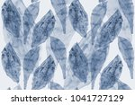 exotic leaf tropical seamless... | Shutterstock . vector #1041727129