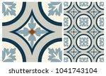 arabic patter style tiles for... | Shutterstock .eps vector #1041743104