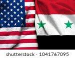 United States America Flag Syria - Fine Art prints
