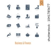 business and finance  flat icon ...   Shutterstock .eps vector #1041785677