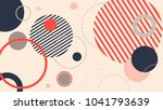 abstract modern geometric... | Shutterstock .eps vector #1041793639