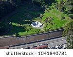 aerial drone view of the... | Shutterstock . vector #1041840781