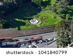 aerial drone view of the... | Shutterstock . vector #1041840799