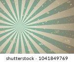 sunlight retro faded grunge... | Shutterstock .eps vector #1041849769