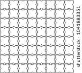 seamless geometric ornamental... | Shutterstock .eps vector #1041883351