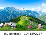pokut plateau rize camlihemsin...   Shutterstock . vector #1041892297