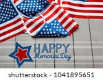 memorial day  holiday | Shutterstock . vector #1041895651