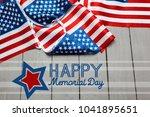 memorial day  holiday   Shutterstock . vector #1041895651
