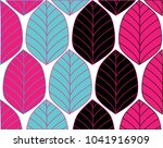 abstract colorful leaves... | Shutterstock .eps vector #1041916909